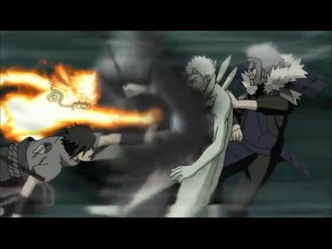 Naruto Shippuden Episode 379 Review -ナルト- 疾風伝 - Madara vs Hashirama!  Naruto/Sasuke Team! AN OPENING