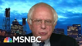 Repeat youtube video Bernie Sanders On Donald Trump's Filthy Rich Cabinet | All In | MSNBC