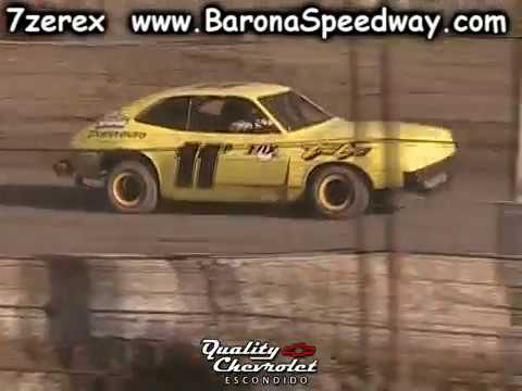 Pony Stock Heat 1 Barona Speedway 5-20-2017