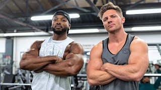 Training Back & Arms With STEVE COOK | Would he try Crossfit Again?