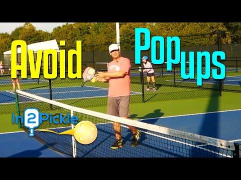 3 Tips to Avoid the Dreaded Pickleball Pop Up | Pickleball Tips
