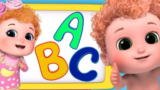 ABC Phonic Song | How to Learn English ABC | New Baby Songs & Nursery Rhymes by Blue Fish