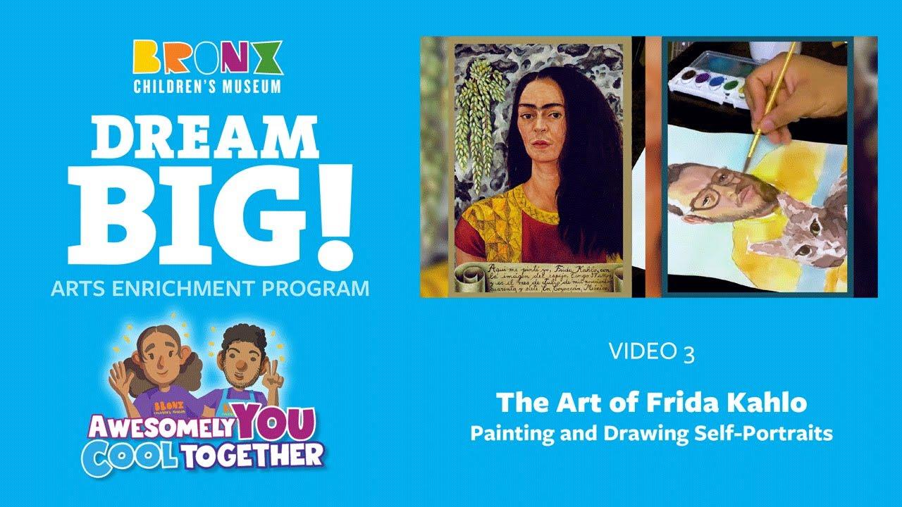 3. The Art of Frida Kahlo: Creating a Self-Portrait