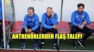 Fenerbahçe'den kovulan antrenörlerden flaş talep!