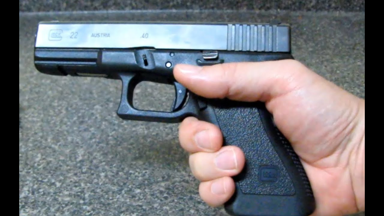 glock handgun safety tips review for beginners youtube