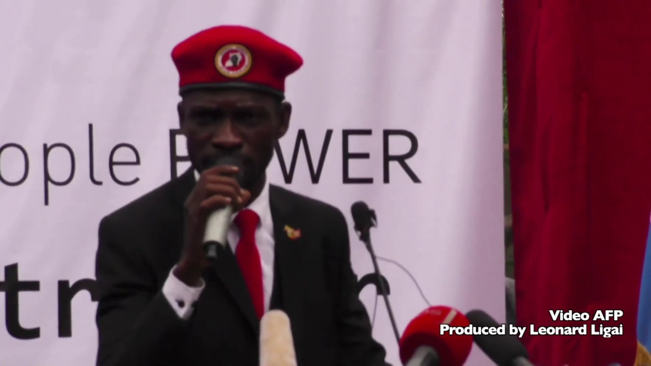 Bobi Wine challenges President Museveni to a free and fair election in 2021