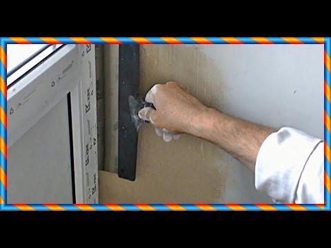 █ Как сделать ОТКОС на пластиковых окнах. Секреты отделки. Ремонт оконных откосов.