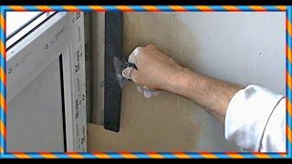 █ Как сделать ОТКОС на пластиковых окнах. Секреты отделки. Ремонт оконных откосов.(Как сделать ОТКОС на пластиковых окнах. Секреты отделки. Ремонт оконных откосов. Штукатурка откоса. Шпакле..., 2015-07-04T14:12:43.000Z)