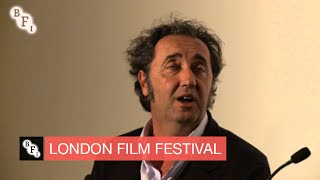 Interview with Academy Award winner Paolo Sorrentino   BFI London Film Festival