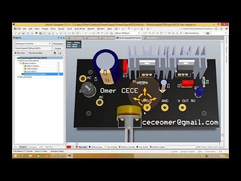 How to route in altium designer 17 using activeroute pcb design.