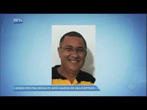 Sargento do Corpo de Bombeiros morre em queda de helicóptero em Niterói