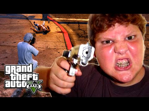 GTA 5 ONLINE - THIS KID IS A SAVAGE & BAD AS F#CK! (GTA 5 Funny Moments)