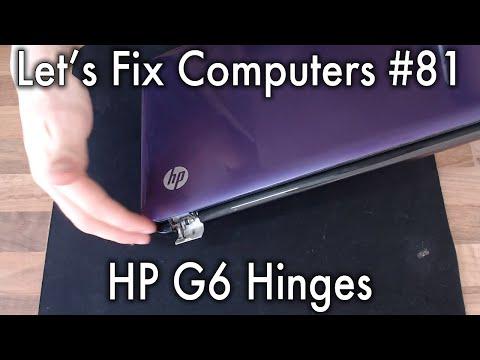 LFC#81 - HP G6 Hinges