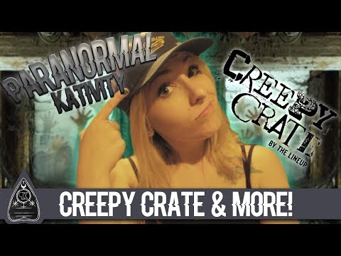 Creepy Crate, PO Box, & a NEW HAUNTED OBJECT!