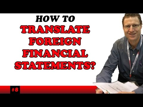 CPA - International Accounting - Week 5 Translation of Forex