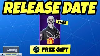GIFT SKINS in Fortnite Update RELEASE DATE (Gifting System)