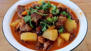 这才是番茄炖牛腩的正确做法,牛肉鲜香嫩滑,特别开胃好吃,真香