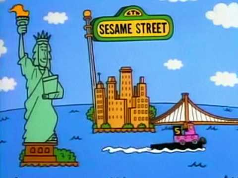Sesame Street end credits theme (1992-2007) - high quality