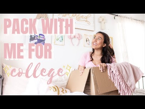 PACK WITH ME FOR COLLEGE! | College Packing Tips And Tricks! | University Of Florida
