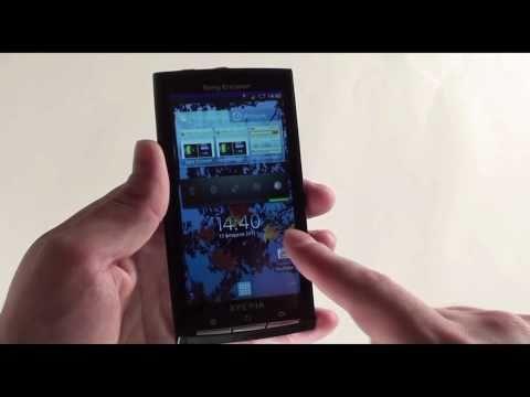 Обзор телефона Sony Ericsson XPERIA X10 от Video-shoper.ru