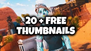 20 + FREE 3D Fortnite Thumbnails - HIGH QUALITY 🔥