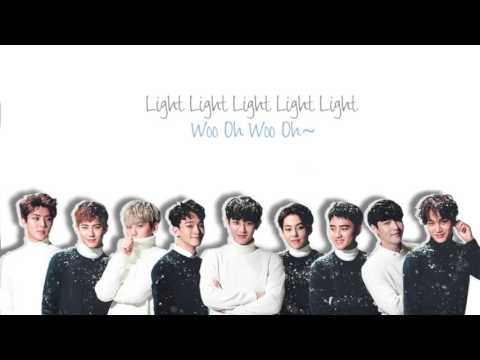 EXO - Lightsaber (光劍) Chinese Ver. (Color Coded Chinese/PinYin/Eng Lyrics)