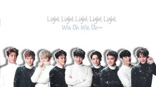 Video EXO - Lightsaber (光劍) Chinese Ver. (Color Coded Chinese/PinYin/Eng Lyrics) download MP3, 3GP, MP4, WEBM, AVI, FLV Oktober 2018