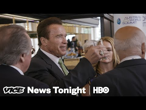 We Spent The Day With Arnold Schwarzenegger At His Climate Summit In Austria (HBO)