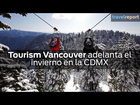 Tourism Vancouver adelanta el invierno en la CDMX