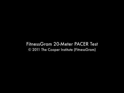 FitnessGram 20-Meter PACER Test OFFICIAL AUDIO (Part 2)