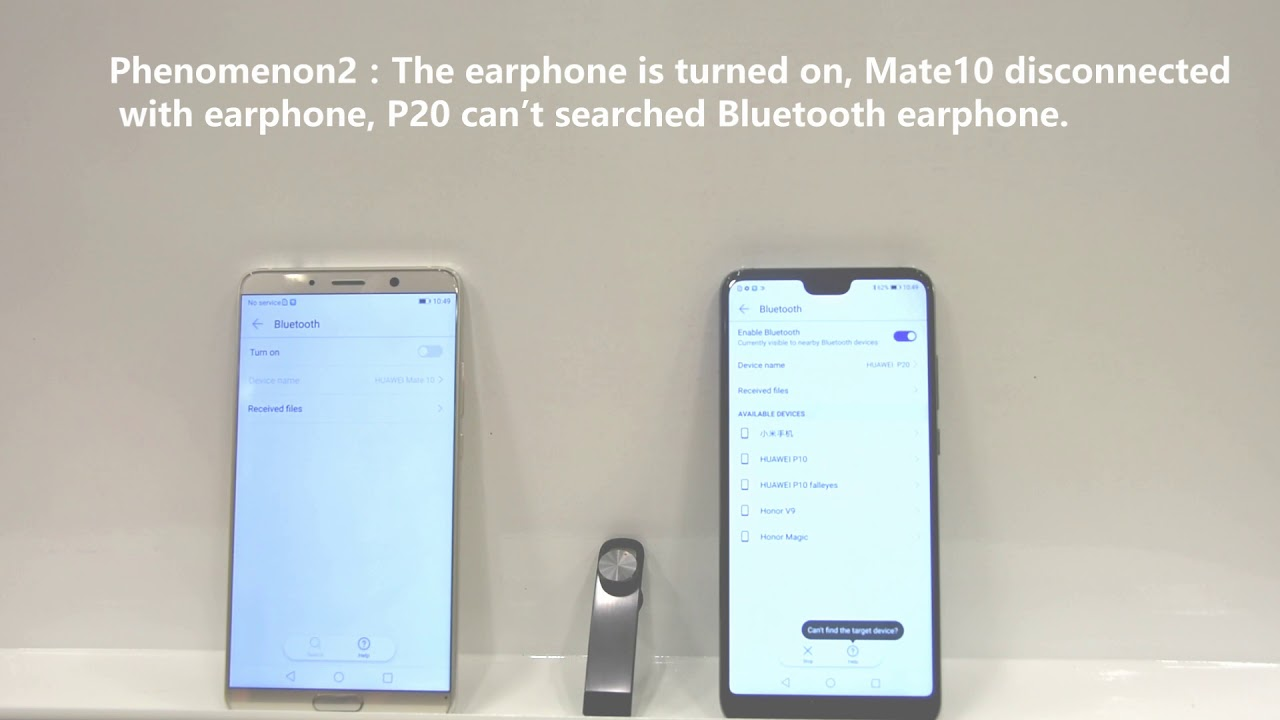 Huawei P20 Pro Bluetooth Videos Waoweo