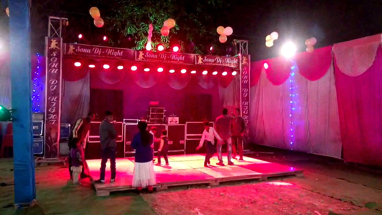 Sonu dj night faizabad 2018 dj setup