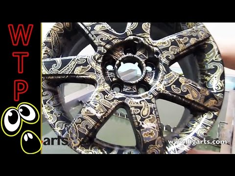 Water Transfer Printing - Hydrographics | Wheel Compilation - This is how we do it!