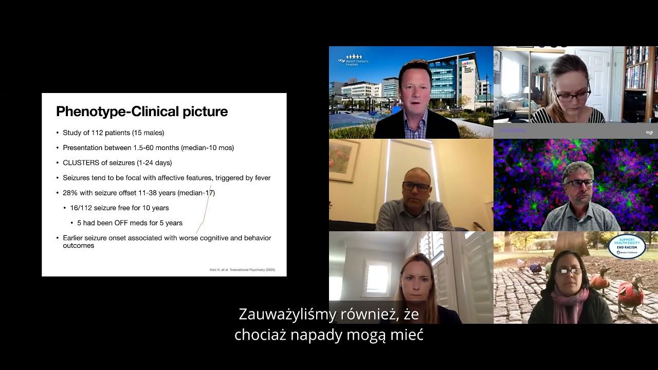 PCDH19 Epilepsy Town Hall 2021 - Polish Subtitles