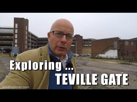 Walks in England: Exploring Teville Gate, Worthing, West Sussex.