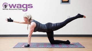 Wrist Support Gloves - Exercise Yoga Pilates Wrist Support Gloves