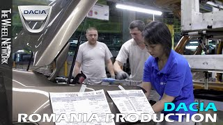 Dacia Production in Romania