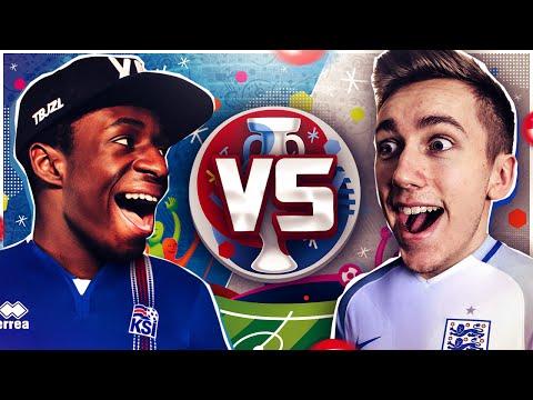 ENGLAND VS ICELAND SCORE PREDICTOR VS TOBI