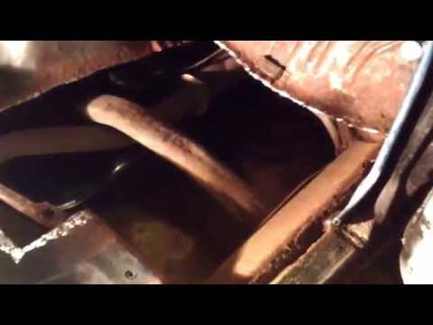Front floor pan replacement on 1968 Chevelle