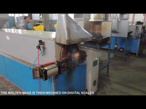 MACHINERY FOR THE MANUFACTURE OF ECO FRIENDLY  WASTE  PLASTIC AND SAND ROOF TILES