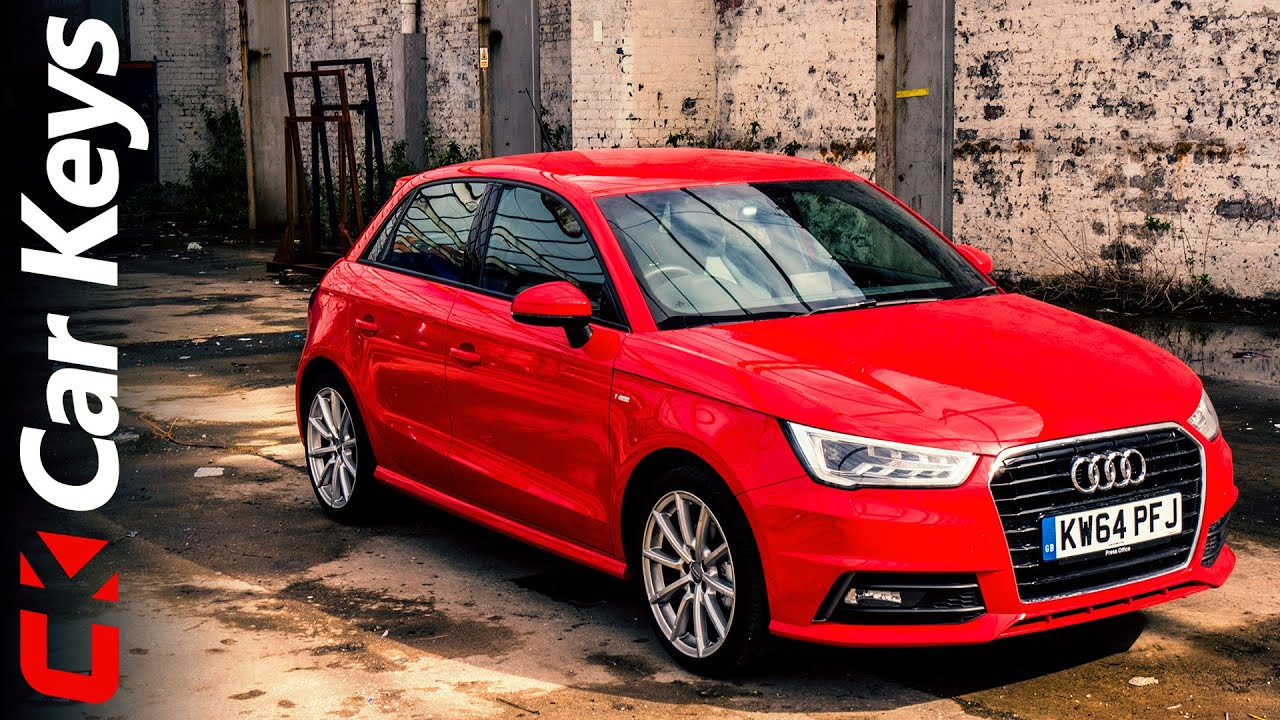 audi a1 sportback 2015 review car keys youtube. Black Bedroom Furniture Sets. Home Design Ideas