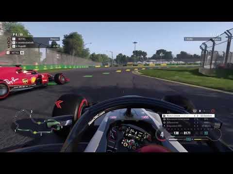 F1 2018 coop multiplayer #1 (Australia)