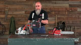 Technical Tips- How To Tension Chainsaw Chain