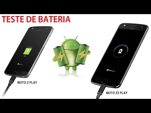 Teste de bateria Moto Z2 Play Vs Moto Z Play - Qual carrega mais rápido ?