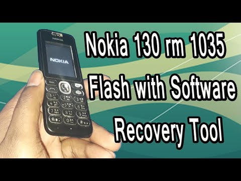 Nokia 130 Rm 1035  Flash File Successfully With Software Recovery Tool