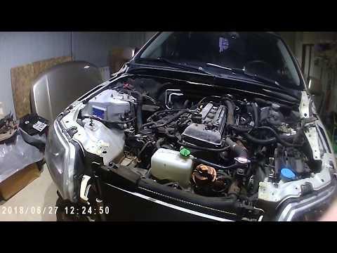 Снятие двигателя Сузуки Гранд Витара J20A для ремонта