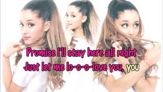 Ariana Grande ft. Lil Wayne - Let Me Love You [Karaoke/Instrumental]