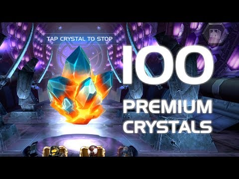 100 Premium Hero Crystal Opening | Marvel Contest of Champions