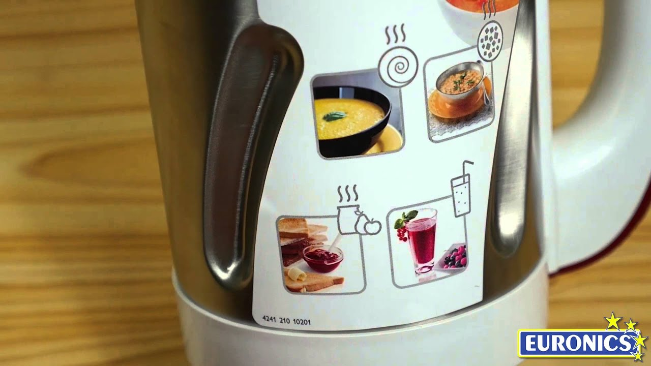 Philips soup maker viva collection hr2200 youtube - Soup maker philips video ...