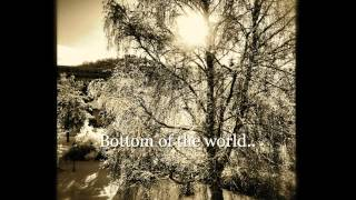 Bottom of the world... -Tom Waits COVER (Ståle Tørring)